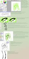 Paint tool SAI lineart Tutorial by Keesness