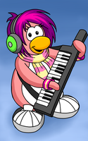 Club Penguin - Cadence Fan Art by Komojo