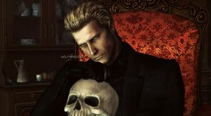 Wesker at home by WolfShadow14081990