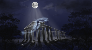 greek temple by NeverTh3LesS