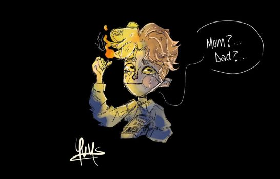 young count olaf by Notoriohs