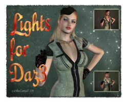 Lights for Daz 3 Free by Ecathe