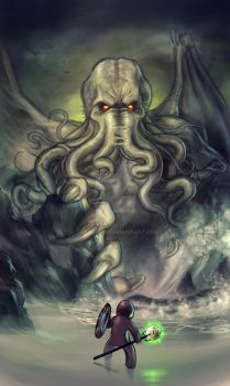 Need a Dark Master? Why not Cthulhu! by TheWizpir