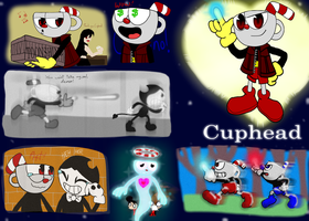 Kingdom Hearts: Cuphead by KHough