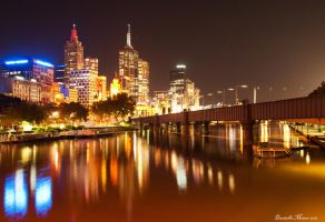 Friday Night in Melbourne by daniellepowell82