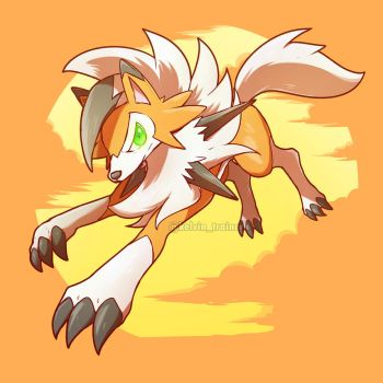 Dusk Form Lycanroc is Here! by kelvin-trainerk