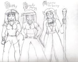 Pirate crew by MistressInsanity