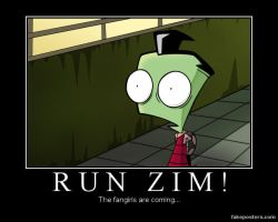 Demotivational:RUN ZIM... by EpicAndStillClumsy