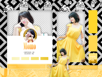 MOMO   TWICE   PACK PNG by KoreanGallery