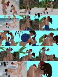 DOA Beach Boxing Extras by Mr-MP