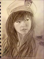 SNSD - Sunny Portrait by marik-devil