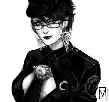 Bayonetta - Police woman by V-Raider