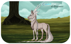 Guardsman Cesare of Glenmore|Stag|Royal Guard by Aislein