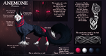 Anemone reference sheet. 2014 by Tenynn