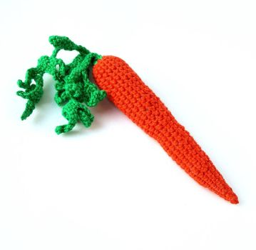 Crochet Carrot by KristinaBengtsson