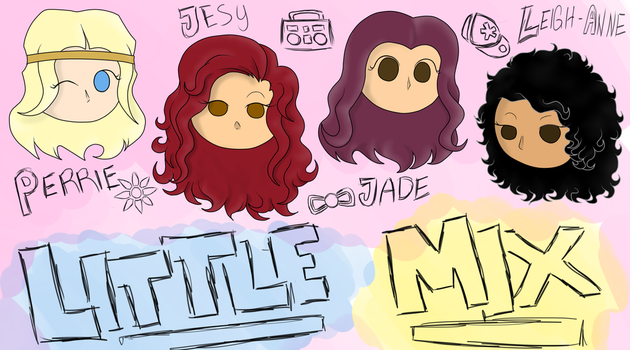 Little Mix by tomColt15