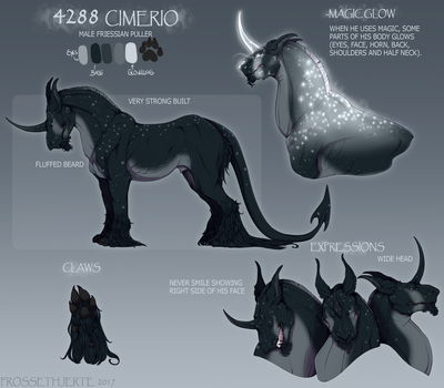 [Reference] Cimerio by FrossetHjerte