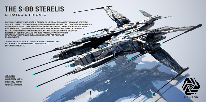 S-88 Sterelis Strategic Frigate by Duskie-06