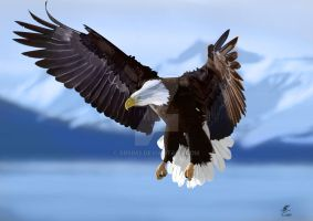 Eagle Painting! by srsim2