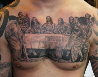 last supper by bobeck