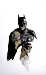 Dark Knight Rises Sketch by cityoftanis