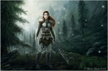 The Warrior by Isriana