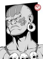 Dhalsim - Street Fighter by TheFresco