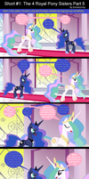 Short #1: The 4 Royal Pony Sisters Part 5 by EmoshyVinyl