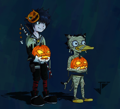 Halloween 2017 by Jhincx-Faust
