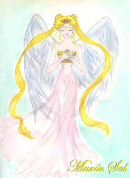 Princess Sailor Moon - Fanart by Marahia