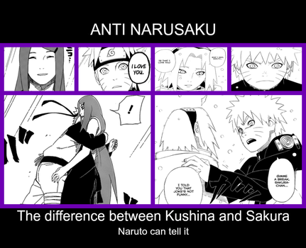 Kushina =/= Sakura - Anti-NaruSaku by ANTINaruSucku