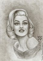 Marilyn Monroe by RalucaFratea