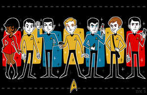 STAR TREK by ZoeStanleyArts