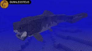 PaleoCraft Concept: Dunkleosteus by Hydrallon