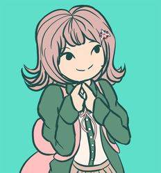 Chiaki Doodle by kellieabomination