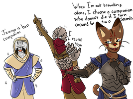 Skyrim as Told by Keyrjini Pt. 2 by Emiade