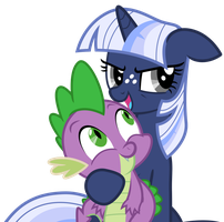 Vector: Silverlay + Spike by EStories