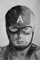 Captain America by figure15