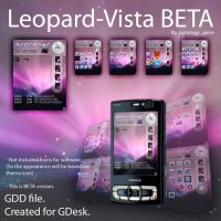 GDesk Theme leopard-Vista BETA by pyrology