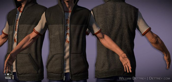 Breaking InFamous Vest by WilliamDettrey