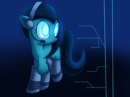 Request: Cyber Pony by Mister-Markers