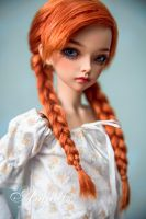 Little Anna's cosplay wig by amadiz