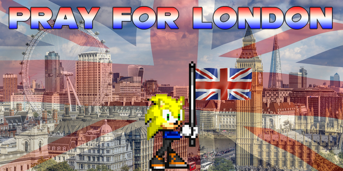 Pray For London by Somcothehedgehog