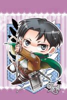 Shingeki no Kyojin - Levi by moonu17