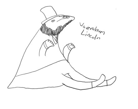 Waveraham Lincoln by Skunkywaffles