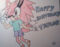 Happy Birthday Taylor!!! by Sonicgirlfriend65