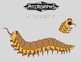 animorphs: taxxon by LizCoshizzle