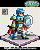 Knight Sprite Demo by baby-marshmallow
