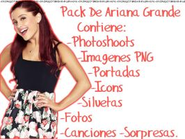 Pack De Ariana Grande by OhSnapItsAbril