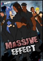 Massive Effect Poster 2009 by Akeem